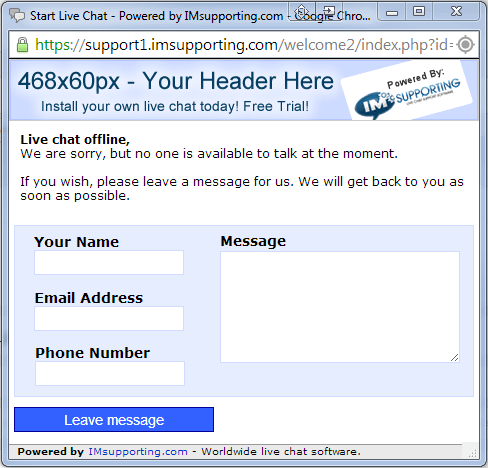 offline message system